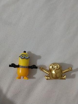 Minions, Minion dorado y normal. McDonald's