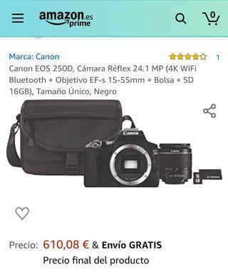 CÁMARA RÉFLEX DIGITAL CANON