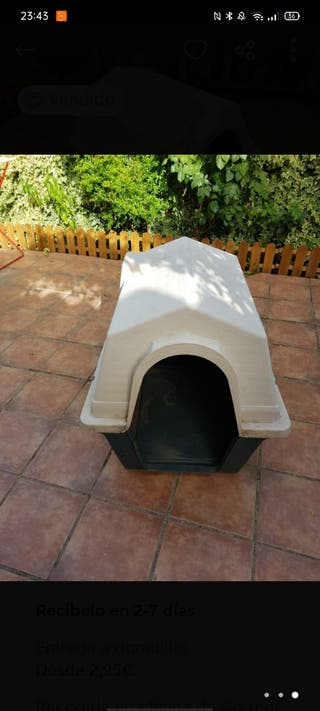 caseta perro mediano/grande