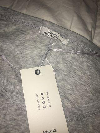 Vestido gris de Shana talla XL