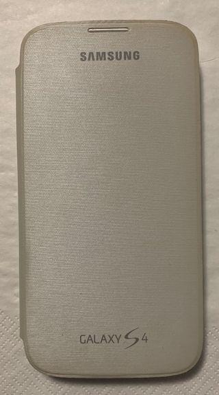 Flip cover Galaxy S4 Blanco