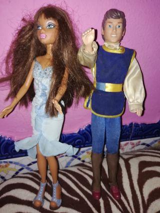 pareja de muñecos uno 5 los dos 10