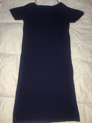 Vestido ajustado azul marino de Shana talla L