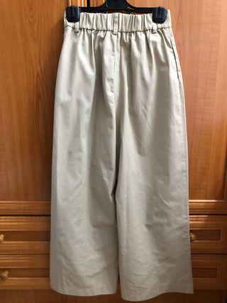 Pantalón pinzas Zara