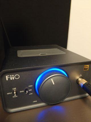 Fiio K5 amplificador con dock