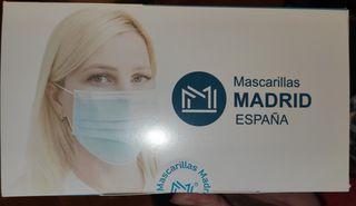 mascarillas homologadas 3 capas echas en España