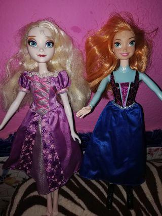 2 muñecas Disney muy bonitas tal como se ven