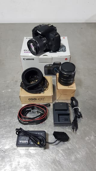 Canon 800d + Accesorios