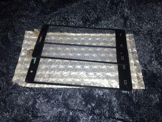 2 pantallas táctil bq aquaris E5