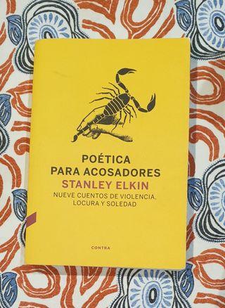 "Vendo libro ""Poética para acosadores"""