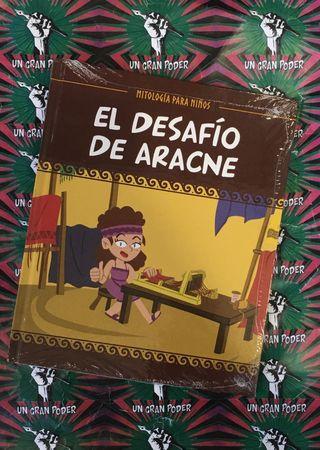 EL DESAFÍO DE ARACNE MITOLOGÍA PARA NIÑOS