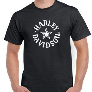 CAMISETA HARLEY DAVIDSON STAR