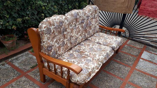 sofa madera