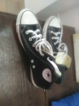 Converse All star negra alta