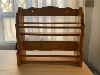 Especiero madera
