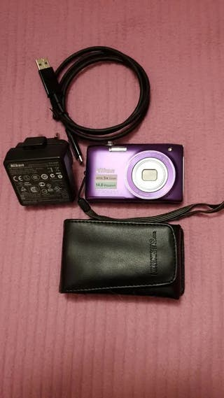 Cámara digital Nikon COOLPIX S3100 14MP +Accesorio