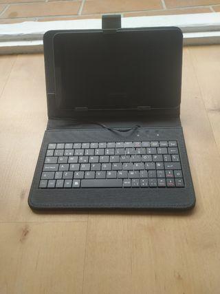 Tablet con teclado 8''