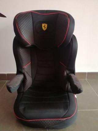 silla de coche Ferrari con isofix