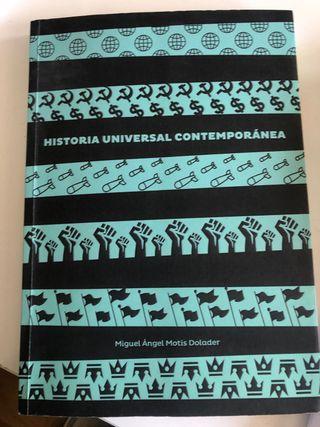 Libro Historia Universal Contemporánea