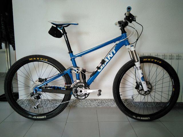 Bicicleta de montaña Giant Anthem X2, talla S
