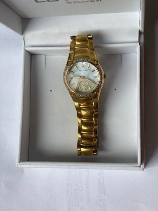 Reloj Bulova Gold Mujer