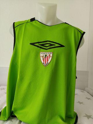 Peto entrenamiento Athletic Bilbao. Talla S