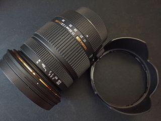 Objetivo Sigma 17-50 f/2.8 Nikon DSLR