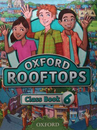 Libro de ingles oxford rooftops 6 primaria.