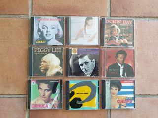 LOTE DE 28 CD MUSICA DIVERSO - TANGO