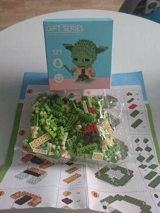 STAR WARS mini bloque tipo lego YODA