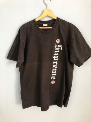 Camiseta Supreme negra