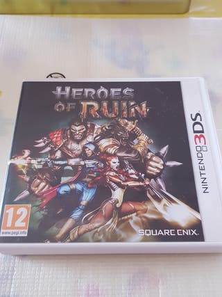 Héroes Of Ruin Nintendo 3DS