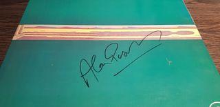 Autografo ORIGINAL Alan Parsons