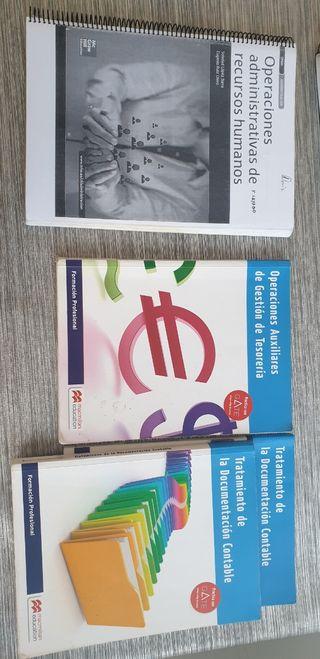 libros grado medio administración 1y 2 año