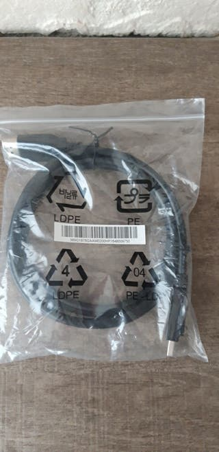 Cable displayport.