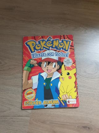 álbum de cromos pokemon