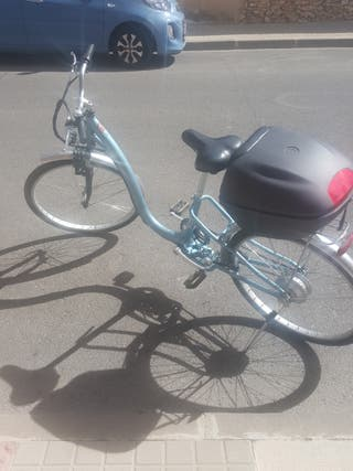 bicicleta monty la e usado 3 meses