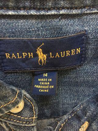 Vestido vaquero Ralph Lauren