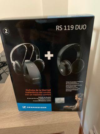 Sennheiser duo inalambricos - cascos - auriculares