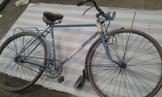 Bicicleta antigua Peliser