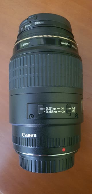 lente canon macro 100 mm f2.8