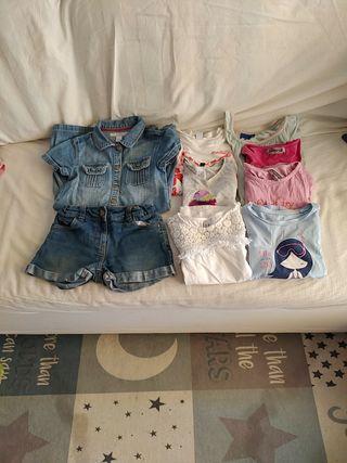 Lote ropa niña verano 5-6
