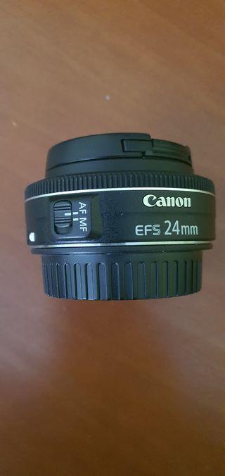 objetivo canon 24mm f 2.8 macro