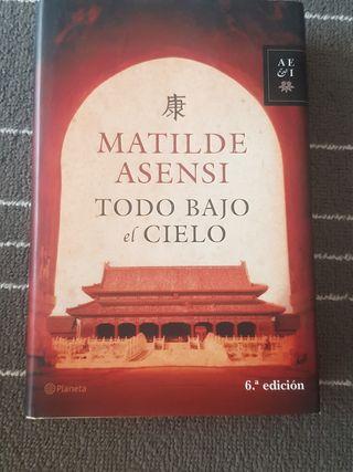 Libro Todo bajo el cielo (Matilde Asensi)