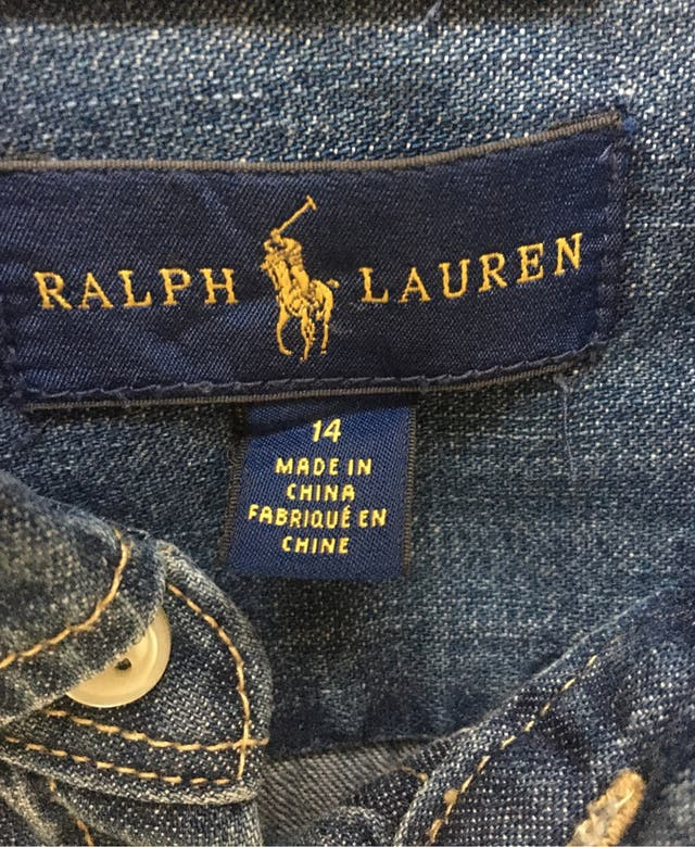 Vestido Ralph Lauren talla 14