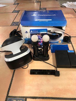 Gafas PS4 Psvr+ cámara + 2moves+ pistola