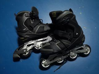 patines en línea n42 y protecciones NUEVOS