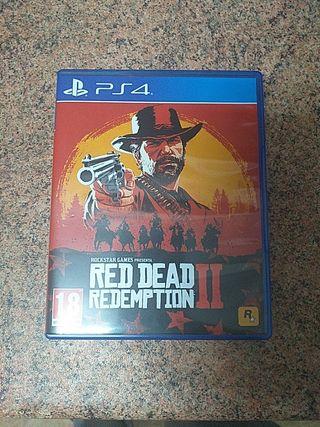 vendo o cambió red dead redemption 2 para play4