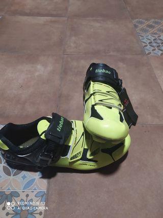 botas de ciclismo TIEBAO n°43