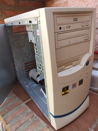 Caja de ordenador antiguo
